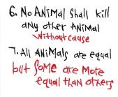 A Constituição animal...